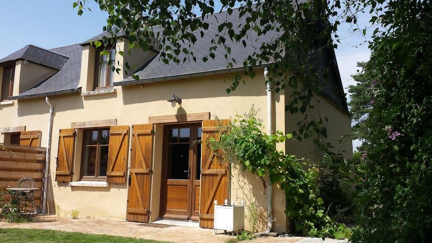 Gite rural romantique en duplex - La Boissière-École - Oda + Kahvaltı