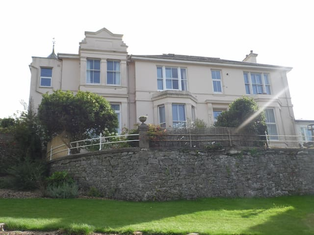 Double & single room in lovely Victorian Apartment - Buckfastleigh - Apartament