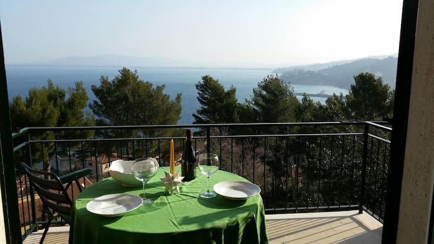 Sweet terrace in front of the sea - Porto Santo Stefano - Apartament