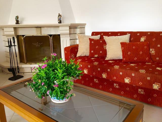 Charming cosy villa in Corfu - Dassia - Appartement