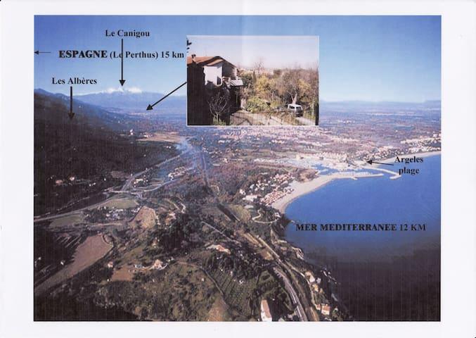 SUFFISANT POUR UN PIED A TERRE - Pyrénées-Orientales - Leilighet