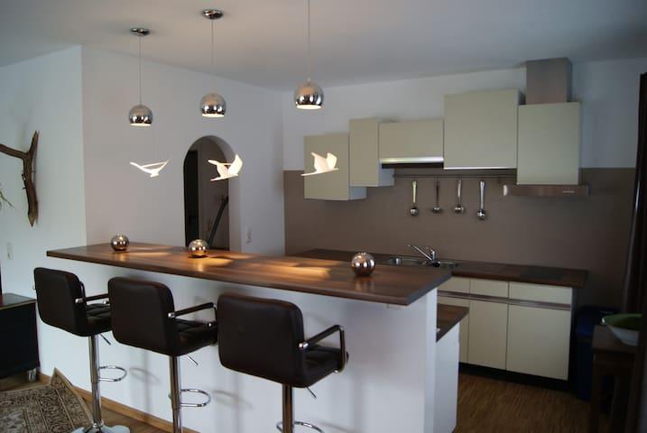 Ruhige Wohnung im Grünen - Bessenbach - Apartament