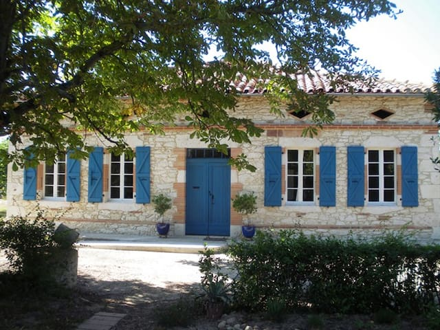 Charming isolated farmhouse - Monferran-Savès - Hus