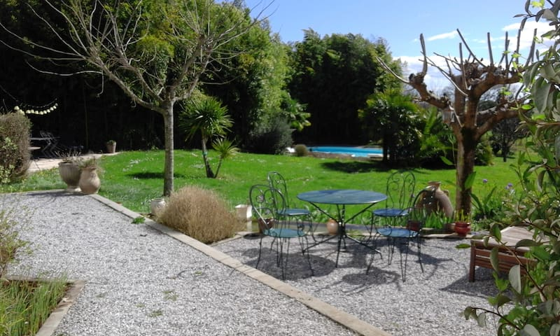 Beautiful family house in the bask Pyrenees ! - Béhasque Lapiste - Casa