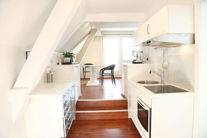 Loft-apartment with lake view - Krumpendorf am Wörthersee - Lägenhet