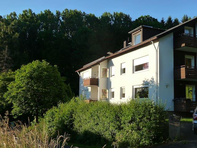 RHÖN BERGBLICK Ferienwohnung Tann - Tann (Rhön) - Appartement