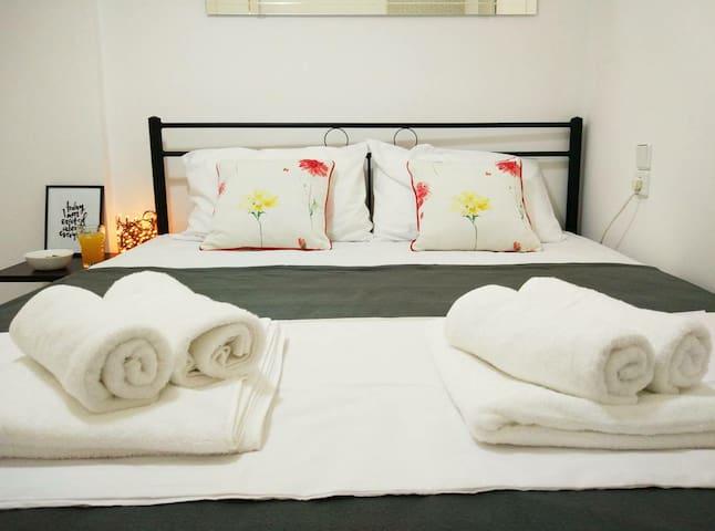 • Perfect Getaway • Cozy Apartment | 2Bd | 4Ppl - Kounoupidiana - Lägenhet