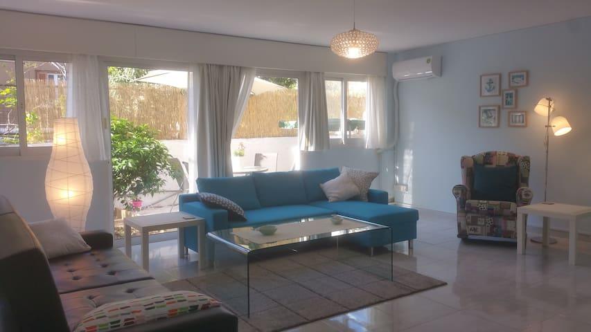 Nice apartment 5 minutes from beach - Germasogeia - Apartemen