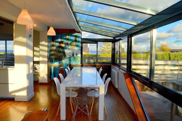 Maison vue sur mer - Plounéour-Trez - Huis