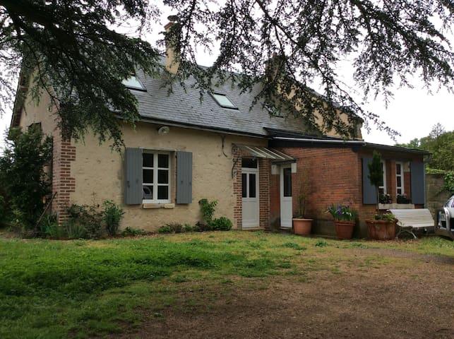 Maison du Garde Château du PLESSIS - Viévy-le-Rayé - Huis