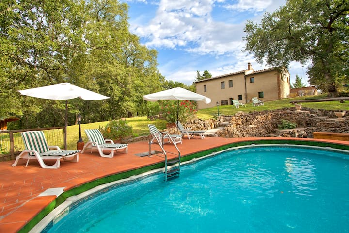 Idyllic old charming Cottage near Siena (10 km) - 索維奇勒(Sovicille) - 別墅