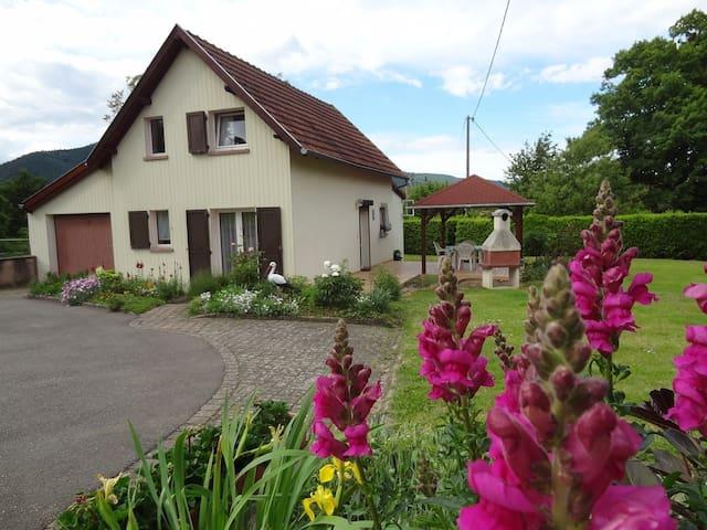 "Gîte "" Le Jardin d'Elisa"" - Niederhaslach - Natuur/eco-lodge"