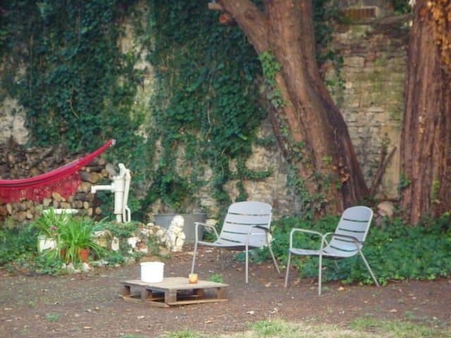 Full center quiet apartment with big garden - Chalon-sur-Saône - Pis