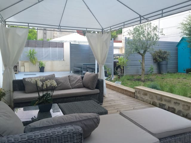 Master suite/Suite Parentale jardin - Ivry-sur-Seine