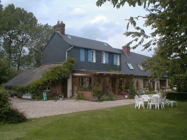Chambre jaune - Saint-Jacques-sur-Darnétal - Bed & Breakfast