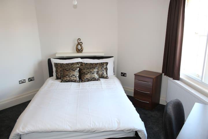 Private City Centre Luxury En-suite DOUBLE ROOM 3 - Leicester - Daire