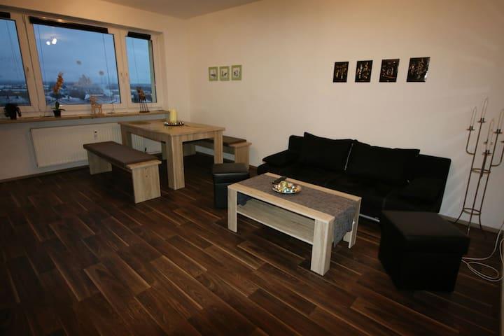 Ferienwohnung Panoramablick - Amberg - Lägenhet