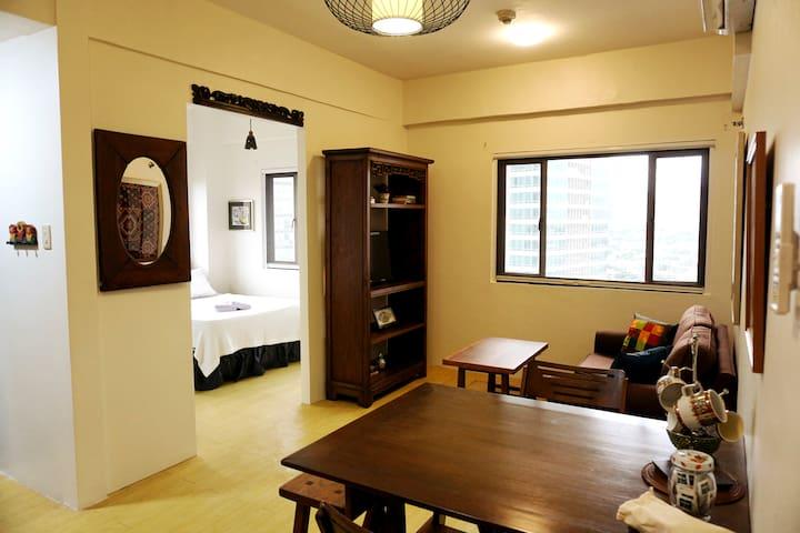 Cozy Studio in Eastwood City with Parking - Quezon City