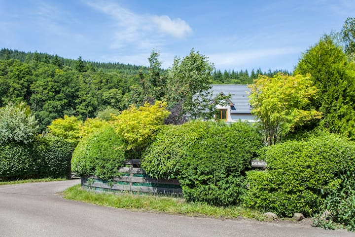 Perfectly situated retreat with stunning gardens - Lochgilphead - Hus