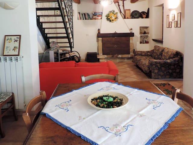 casa nel bosco del parco nazionale Gran Sasso - Arsita - Домик на природе