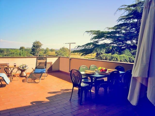 VILLA SICANIA:Relax,Verde e Mare - Piombino - Appartamento