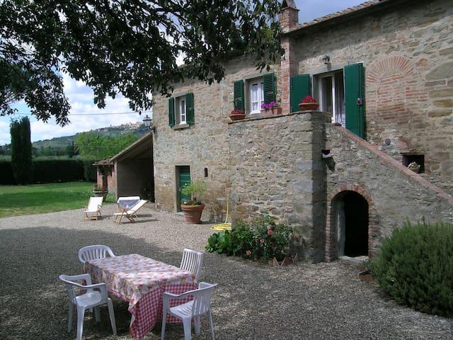 The farmhouse of Leda - Cortona - Hus