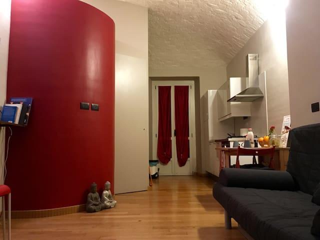 Charming studio in the Borgo Vecchio in Turin - Torino - Apartment