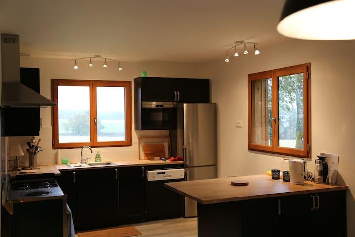 Lodge chaleureux et luxueux en pleine nature - Vendeuvre-sur-Barse - Huis