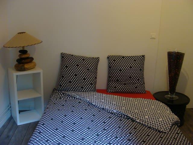 Chambre dans un cadre bucolique; idéal pour l'Euro - Saint-Chéron - Hus