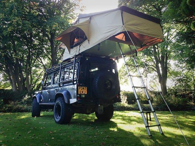 Roof Tent Expedition Land Rover Defender - Hope - Camper