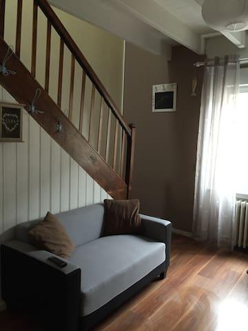 appartement duplex, cuisine equipée - Pordic - Квартира