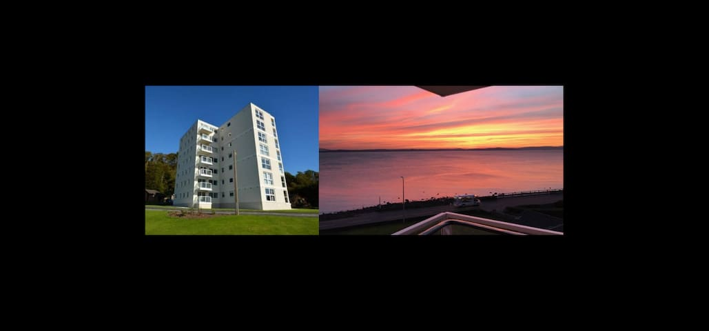 2 Bedroom Flat with Spectacular Views from Balcony - Largs - Departamento