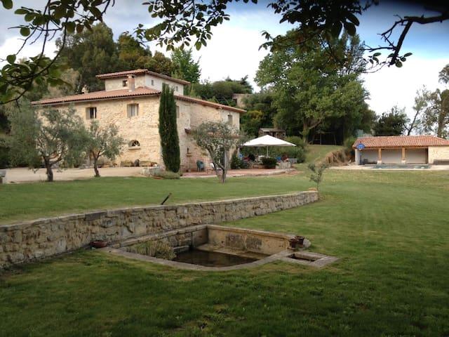 chambres d'hôtes avec piscine et tennis priv - Beaucaire - Pousada