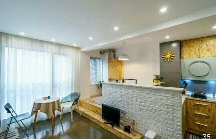 江滩中城公寓 一元路汉口老租界区 Riverside New Flat - Wuhan - Pis