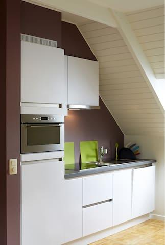 Affligem-Asse Rustige 50 m² studio  - Ternat - Apto. en complejo residencial