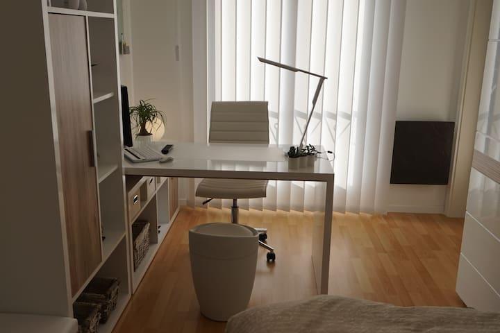Chambre privée tout confort - Marly - Appartement