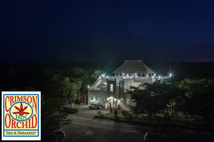 The Crimson Orchid Inn, Orchid Bay - Corozal, Belize - Bed & Breakfast