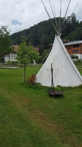 Gemütliches Tipizelt - Oberburg - Tenda Indígena