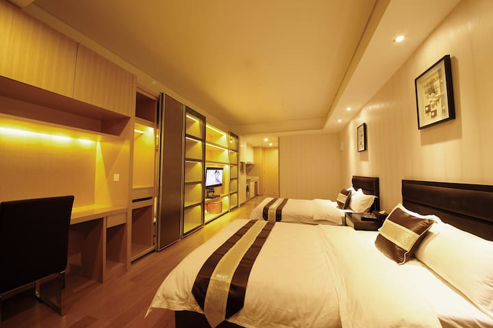 Give you a five star home~twin beds - Guangzhou