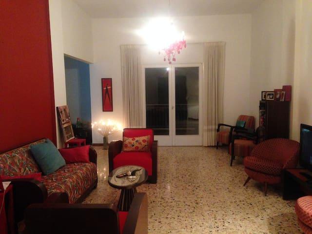 Appartement d'été avec jardin - Baabdat - Apartamento