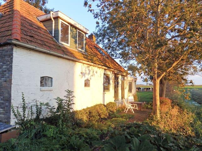 Holidayhome 'Vakantiehuis Buren' behind the farm - Wijnaldum - Ev