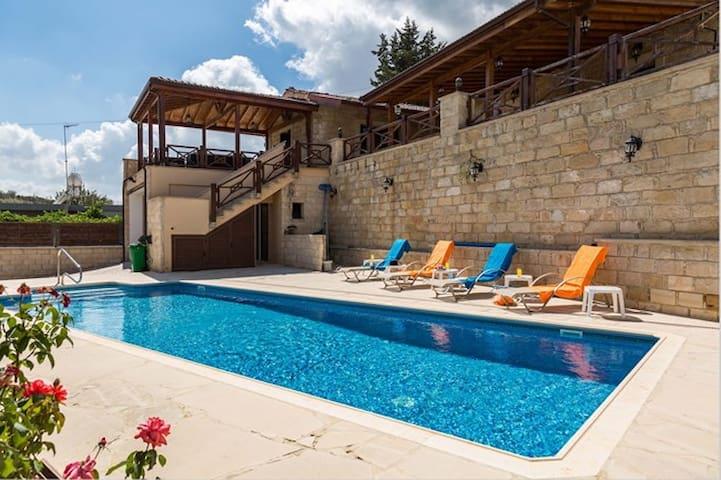 Villa Elizabeth- country villa with pool - Pachna