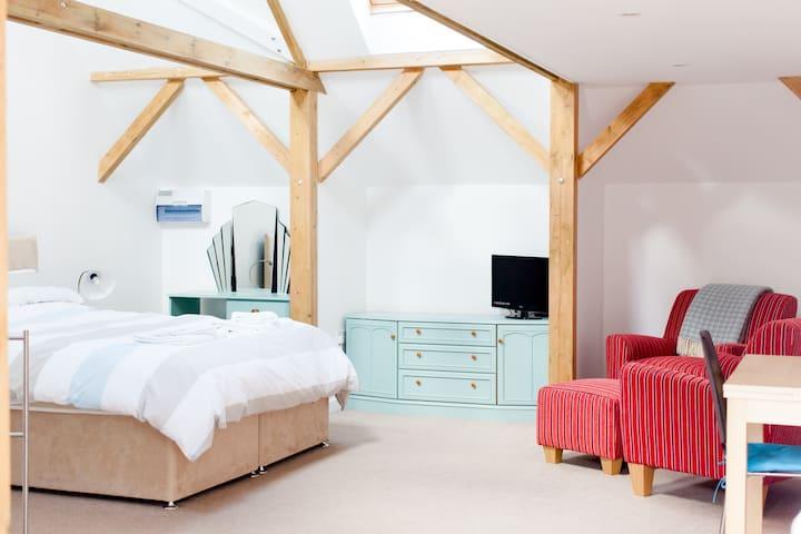 Spacious Studio on an Alpaca Farm - Bridgwater - Bed & Breakfast