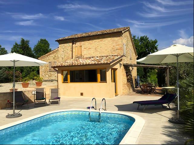 Casa Del Leone - Amazing views, private pool - Patrignone - Villa