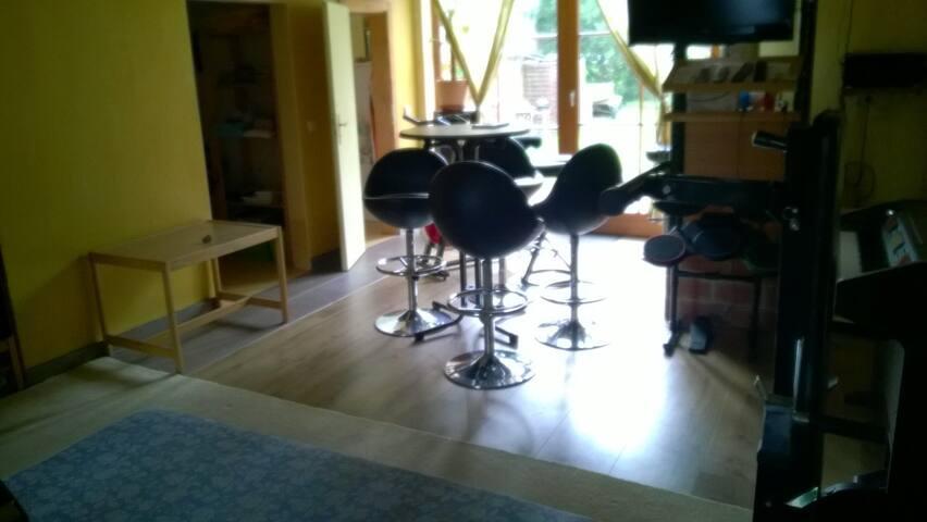 Studio with Wellness +Bar +Kitchen +Sleepingroom - Radeberg - Leilighet