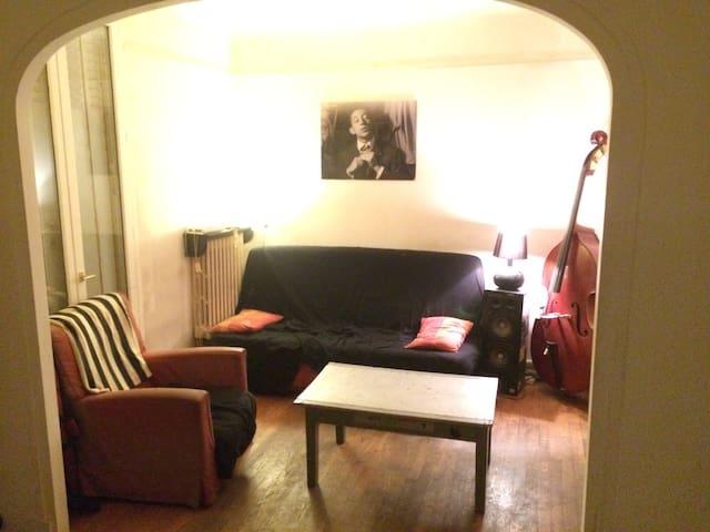 Chambre privée /15 min centre Paris - Cachan - Huis