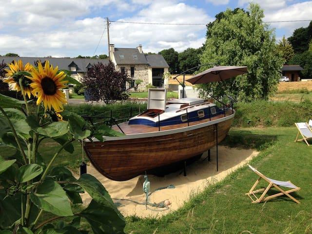 DISKIANT*, le petit bateau dans la prairie ! - Hédé-Bazouges - Barco