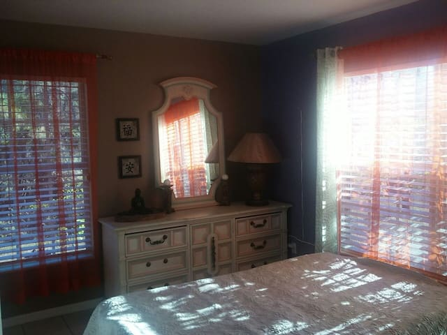 Tranquil Private Room By Ball Park - Lehigh Acres - Huis