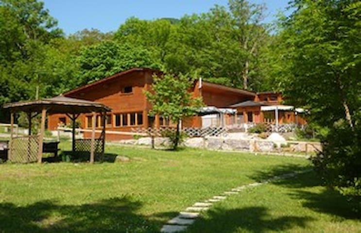 Chalet le Grand Bois 19-25 couchages - Saint-Béat - Chalé