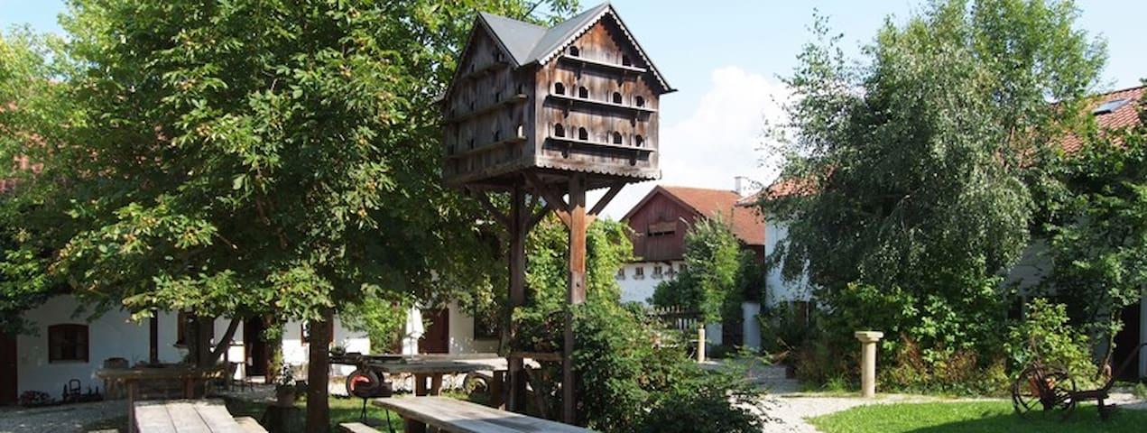 idyllischer Vierseithof - Kröning - 獨棟